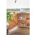 Gartenschrank/Outdoorküche Hochschrank Typ 543 inkl. 2 Türen 60x58x172 cm Douglasie