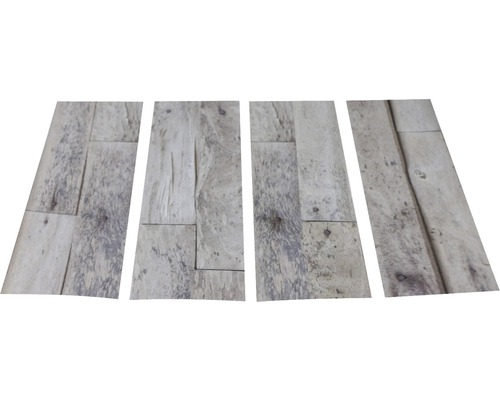 Antirutschsticker mySPOTTI stepon Wood Planks Set mit 4 Streifen à 30 x 10 cm