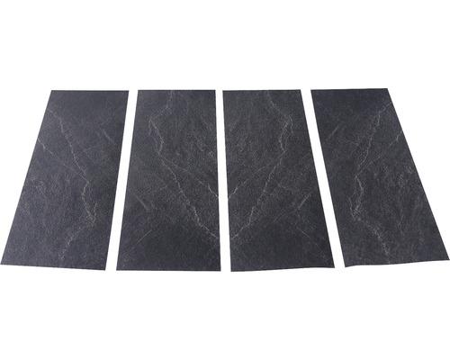 Antirutschsticker mySPOTTI stepon Slate Set mit 4 Streifen à 30 x 10 cm