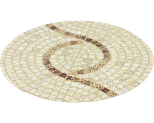Antirutschsticker mySPOTTI stepon Kreis Marble Stone Mosaik