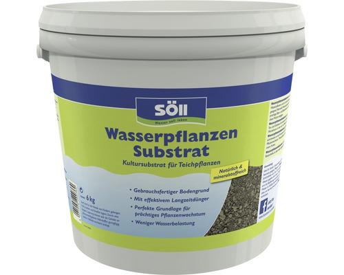 Wasserpflanzen Substrat Söll für Teichpflanzen 6 kg