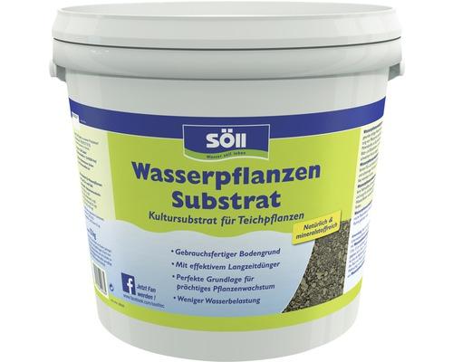 Wasserpflanzen Substrat Söll für Teichpflanzen 12 kg