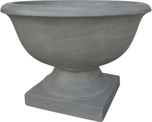 Pflanzschale Lafiora Zement Ø 70 H 48 cm grau