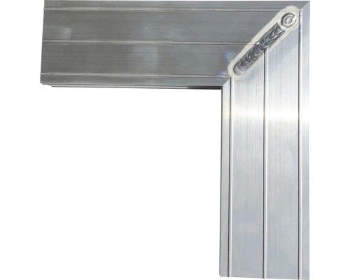 Eckverbinder für Unterkonstruktion Base-Isostep Pack = 2 Stück Schenkellänge 180 mm
