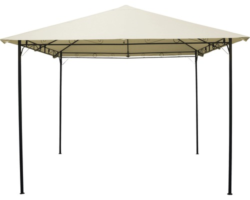 Pavillon 3x3x2,55 m Polyester beige