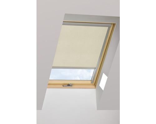 Tageslichtrollo FAKRO ARP beige manuell 114x140 cm (11)