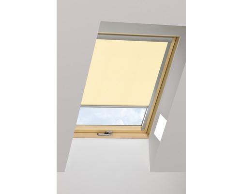Tageslichtrollo FAKRO ARP creme manuell 55x78 cm (01)