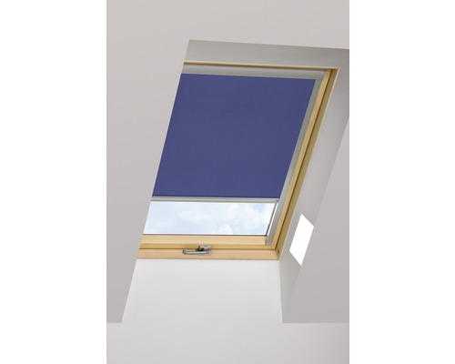 Tageslichtrollo FAKRO ARP dunkelblau manuell 114x140 cm (11)