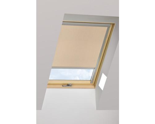 Tageslichtrollo FAKRO ARP cappuccino manuell 55x78 cm (01)