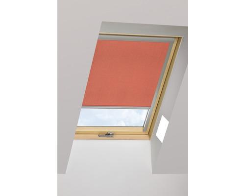 Tageslichtrollo FAKRO ARP ziegelrot manuell 94x140 cm (09)