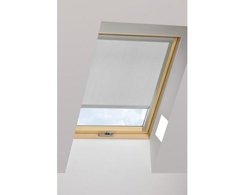 Tageslichtrollo FAKRO ARP lichtgrau manuell 66x98 cm (03)