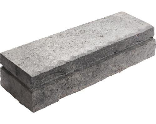Mauersystem Cremona Landhaus grau anthrazit melange Verlegeeinheit 16 Steine = 0,90m²