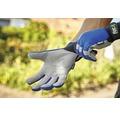 Gartenhandschuhe for_q gardening 1 Paar Größe XL, blau
