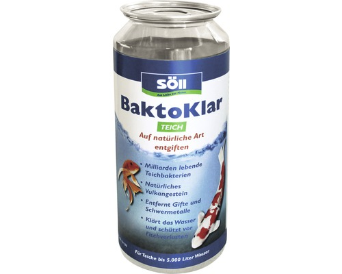Wasseraufbereiter Söll BaktoKlar Teich 450 ml