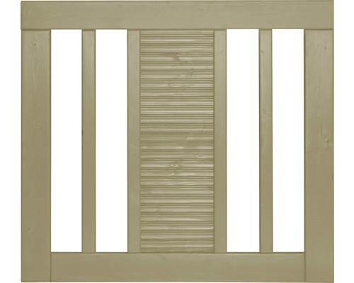 Einzeltor Fenris 90 x 90 cm, kesseldruckimprägniert