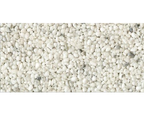 Steinteppich-Set 1 m² Ravello Mittel (4-8 mm) Weiß Innenbereich - Boden
