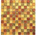 Glasmosaik CM 4AL14 30x30 cm mix braun/gold/orange