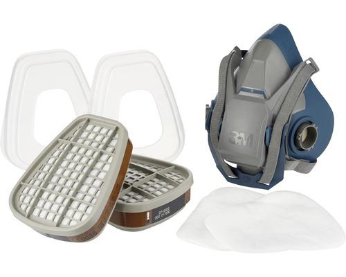 Mehrwegmasken- Set für Farbspritzarbeiten 3M™ 6502QLPRO Gr. M Schutzklasse A2P3
