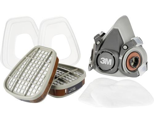 Mehrwegmasken- Set für Farbspritzarbeiten 3M™ 6002PRO Schutzklasse A2P3