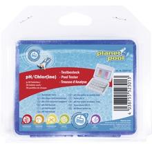 Testbesteck pH/Chlor + Tabletten, 20 Stück