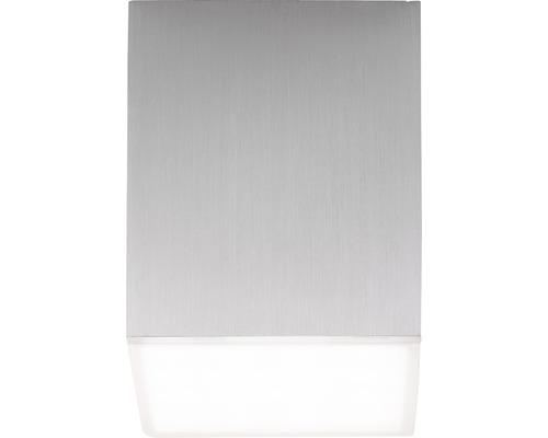 AEG LED Deckenleuchte dimmbar IP20 1x3W 300 L 3000 K warmweiß HxBxL 76x65x65 mm Gillan alu gebürstet