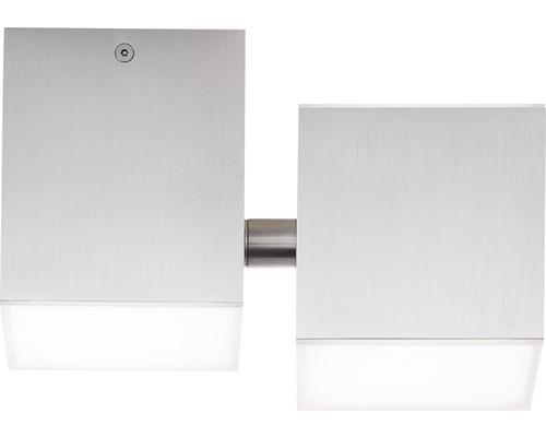 AEG LED Deckenleuchte IP20 3x3W 300 L 3000 K warmweiß HxBxL 105x178x111 mm Gillan alu gebürstet Elemente schwenkbar Lichtauslass nach oben + unten