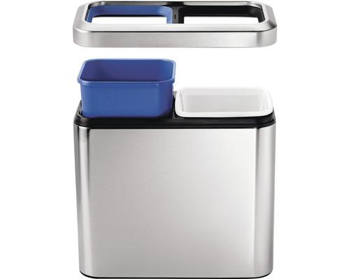 Slim Open Recycler 2x10 Liter