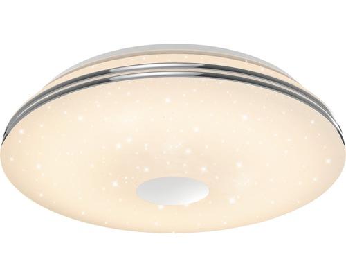 AEG LED Deckenleuchte RGBW dimmbar 60W 5500 lm 3000-6000 K warmweiß bis tageslichtweiß mit Fernbedienung Mondo weiß/chrom Ø 585 mm