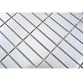 Edelstahlmosaik XCE 1548D silber 29,8x30,5 cm