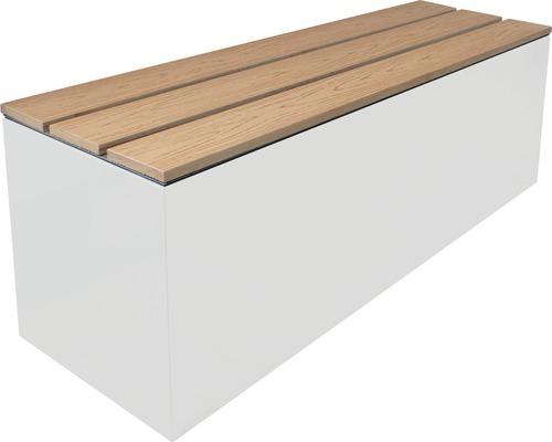 Sitzdeckel mit WPC-Lattung für Palatino Lotte 120x40 cm