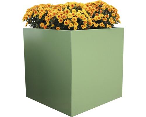 Pflanztopf Palatino Nora Zink 50x50x50 cm grün