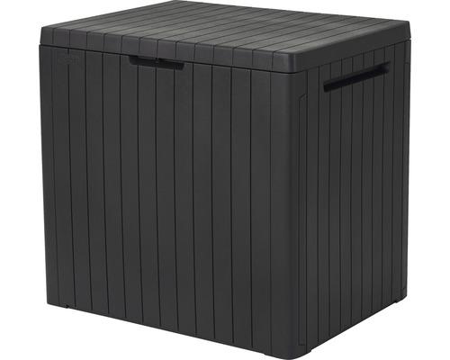 Aufbewahrungsbox Keter Citybox 58 x 44 x55 cm anthrazit