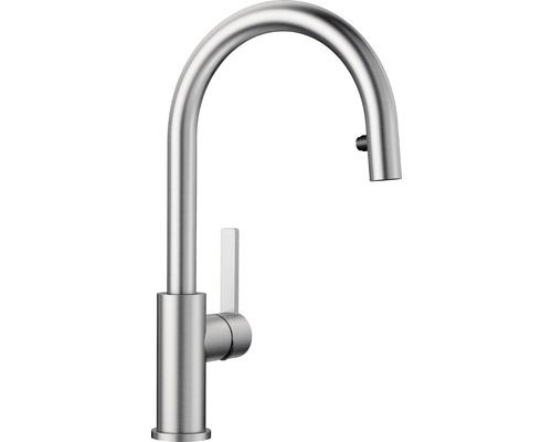 Küchenarmatur BLANCO Candor-S Niederdruck edelstahl gebürstet 525125