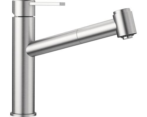 Küchenarmatur BLANCO Ambis-S Niederdruck edelstahl gebürstet 525124