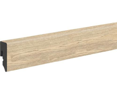 Sockelleiste Skandor PVC KU48L Risseiche natur 15x38,5x1200 mm