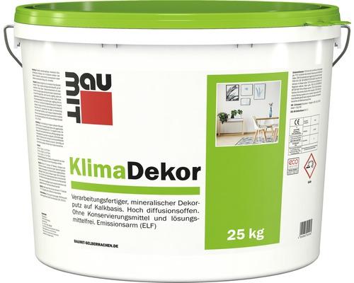 BAUMIT Pastöser KlimaDekor Kalkputz mit Kratzputzstruktur 2 mm weiß 25 kg