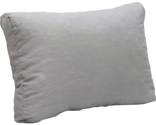 Loungekissen 60 x 40 cm Rücken hellgrau