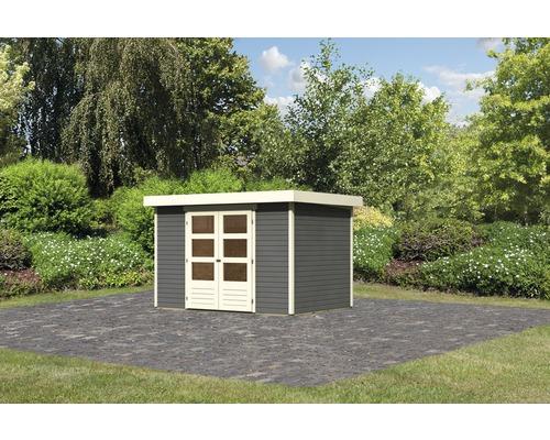 Gartenhaus Karibu Kodiak 4 302 x 217 cm terragrau