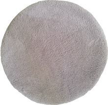 Teppich Wellness taupe Ø 80 cm