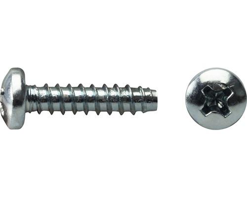 Blechschraube Linsenkopf Schneidkante DIN 7981 4,2x16 mm galv. verzinkt, 1000 Stück