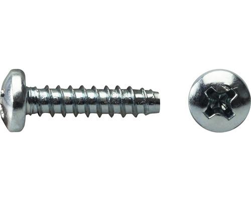 Blechschraube Linsenkopf Schneidkante DIN 7981 4,2x13 mm galv. verzinkt, 1000 Stück