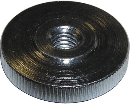 Rändelmutter flach DIN 467, M10 galv.verzinkt 50 Stück