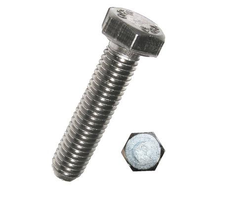 Sechskantschraube o. Schaft 5 x 16 mm, DIN 933 verzinkt 100 Stück