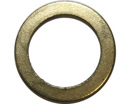 Türunterlegscheibe 9 mm vermessingt, 15 Stück