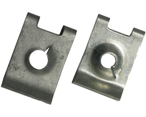 Blechmutter 6,3 mm, galv.verzinkt, 4 Stück