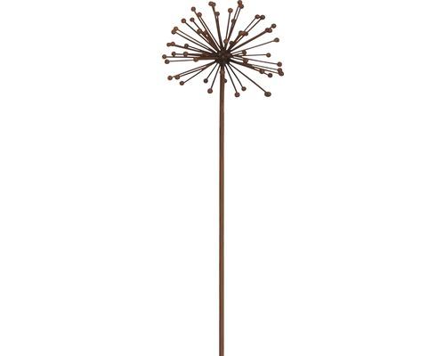 Gartenstecker Pusteblume Metall H 85 cm schwarz