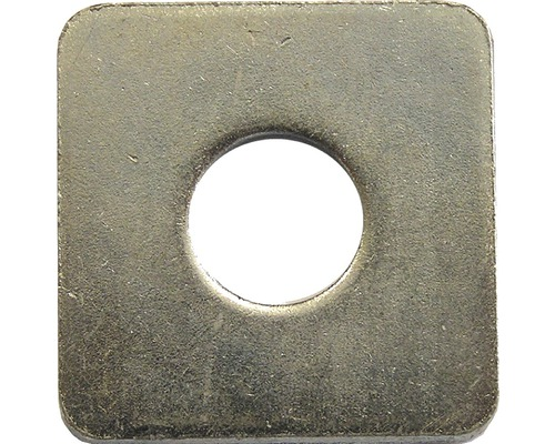 Scheibe vierkant DIN 436, 9 mm galv.verzinkt 50 Stück