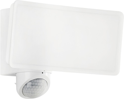 LED Sensor Außenwandleuchte IP44 30W 2600 lm 4000 K neutralweiß B 180 mm weiß