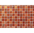 Glasmosaik XCM CB 30 mix rot 30x30 cm