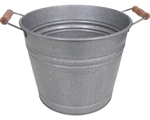 Zinkwanne 30,5x22,5x25 cm 12 L old zinc